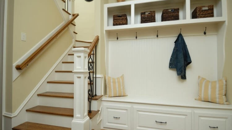 How To Build A Coat Rack With Storage Space